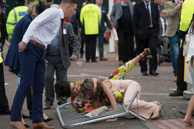 You Won't Find A Lot Of Ladies At Aintree Ladies Day