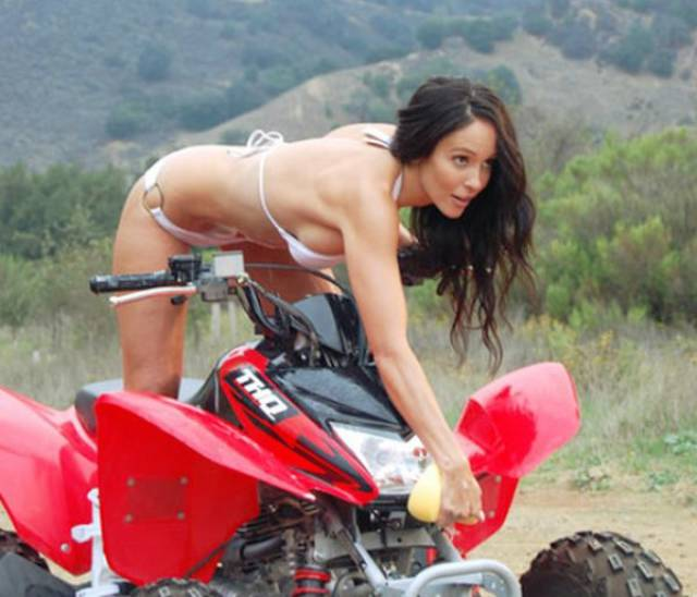 There's Nothing Better Than Hot Babes On Four-Wheelers