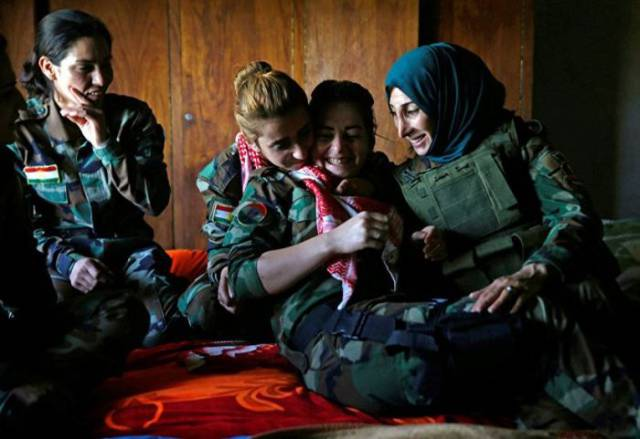 Brave Women Who Fight With ISIS
