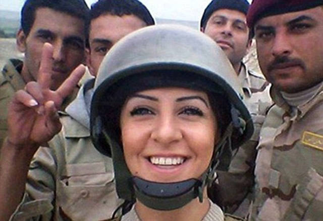 This College Student Is A Real Life Hit-Girl Who Fought ISIS In Syria