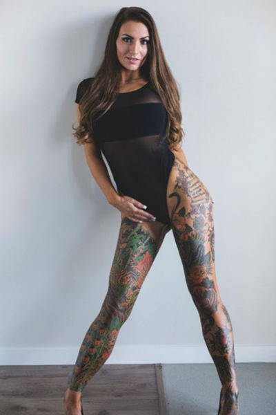 Hot Tattoos And Sexy Women Go Really Well Together