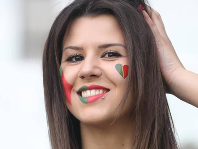Hottest Female Football Fans Spotted At Euro 2016
