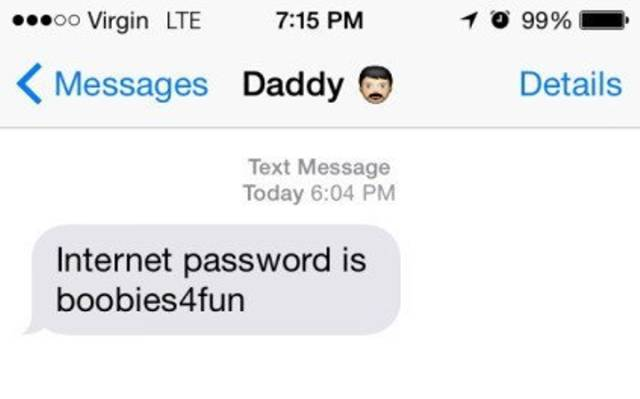 This Must Be The Worst Text That A Child Has Ever Received From Their Father
