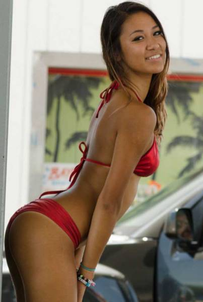 """Hot Girls of """"Baywash Bikini Carwash"""""""