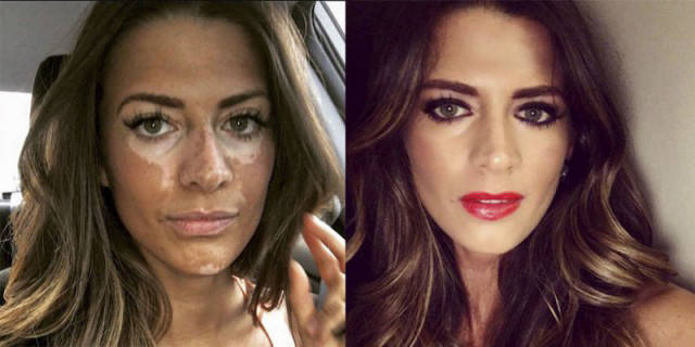 You Won't Believe How This Attractive Model Looks Like Without Makeup