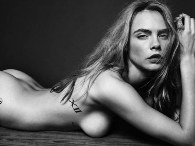 "Cara Delevingne From ""Suicide Squad"" Shows Some Skin"