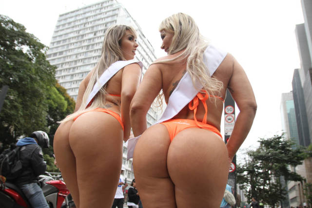 Contestants Of Miss Bumbum Pageant Showed Off Their Butts On One Of Sao Paulo