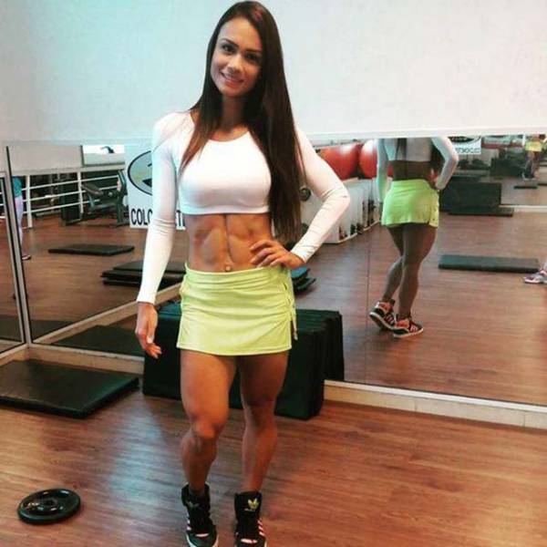 Girl Who Never Skipped Leg Day