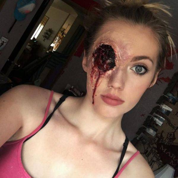 Scary Horror Makeup That Looks A Little Too Real