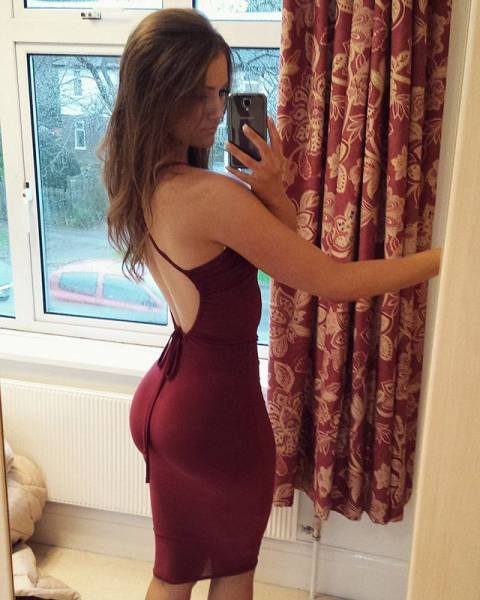 Give a Girl a Tight Dress and Bam... It's Hotness Overload