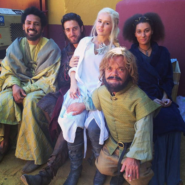 Actors With Their Stunt Doubles