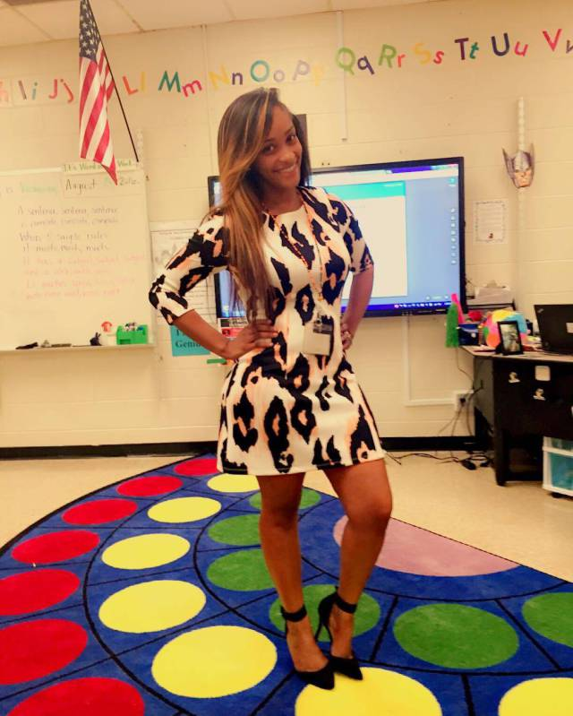 Parents Complain That This Elementary School Teacher Is Too Sexy