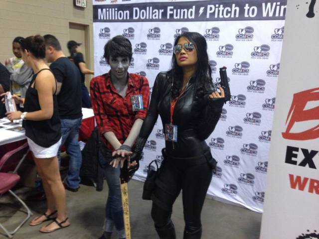"""This """"Nerd Cane"""" Was Lucky Enough To Be Held By Some Of The Most Beautiful Cosplayers"""