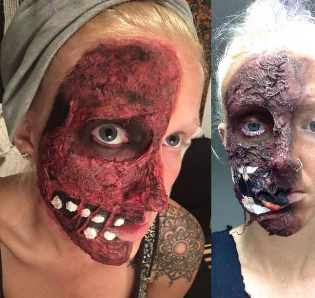 Horror Makeup Ideas To Get You Ready For Halloween