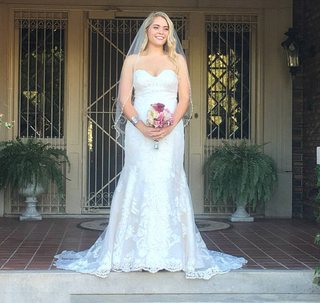Overweight Bride Surprises Everyone With Her Stunning New Look On Her Wedding Day