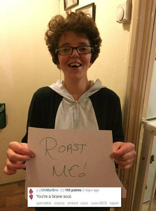 Hilarious Collection Of 'Roast Me' Pictures