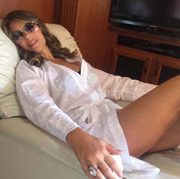 51-Year-Old Elizabeth Hurley Shared Photos Of Herself In A Swimsuit