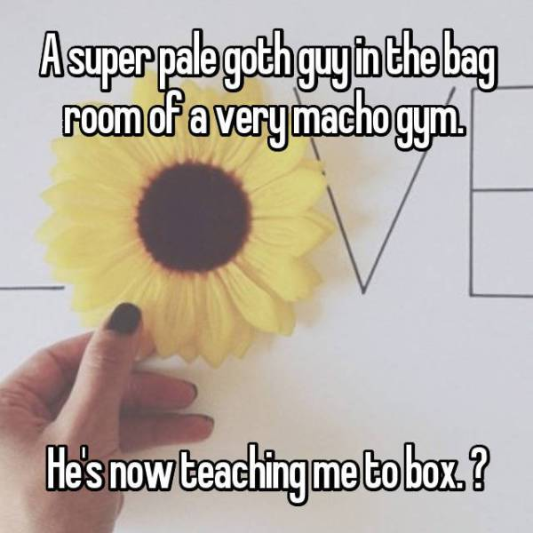 Really Strange Things People Saw At The Gym