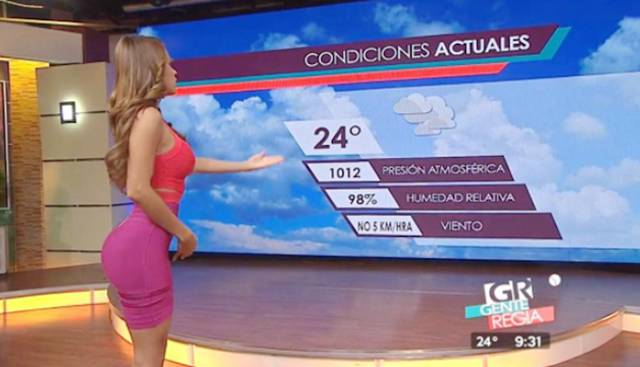 This Weather Reporter Is The Reason You'll Watch News Channel Even If It's In Spanish