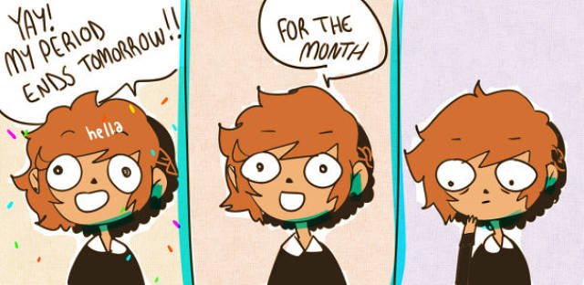 Funny Comics About Periods That Any Woman Can Relate