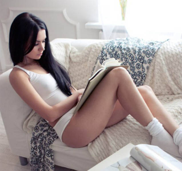 I Don't Care What She's Reading, But I Will Gladly Read It Too