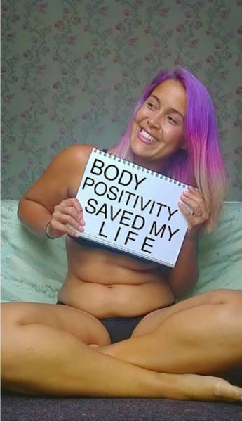 A Former Anorexic Is Proud Of Her Stomach Rolls