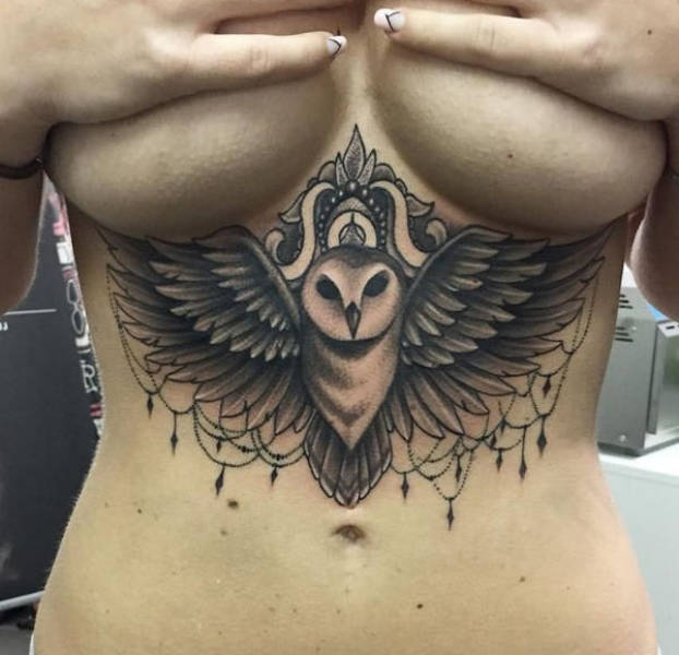 These Underboob Tattoos Are Very Pleasing To The Eye