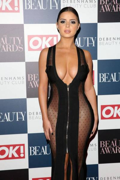 Demi Rose Showed Up At The Beauty Awards In A Dress That Got Her All The Attention