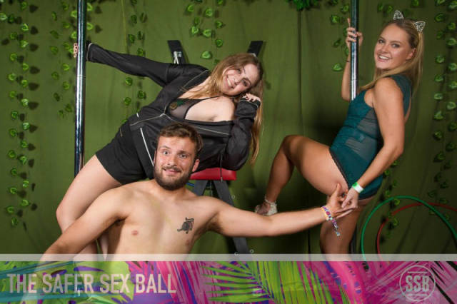 """Students Organized Raunchy Charity Party Called """"Safer Sex Ball"""""""