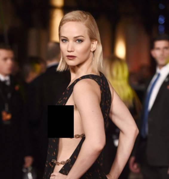 A Sneak Peek Of Hot Celebrities' Sideboob