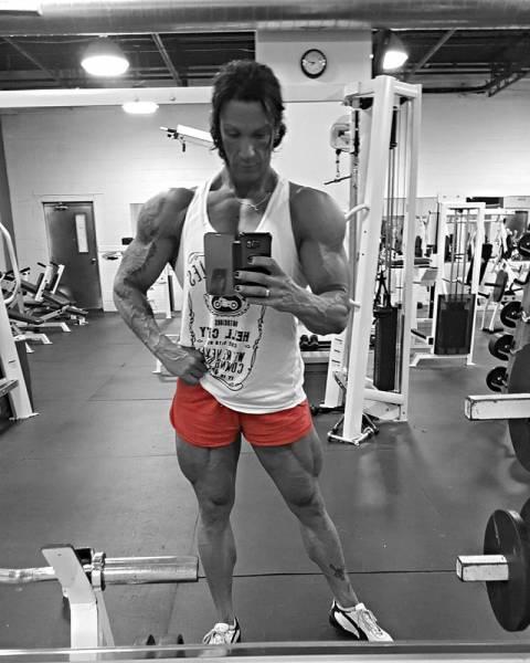 A Female Bodybuilder Like You've Never Seen Before
