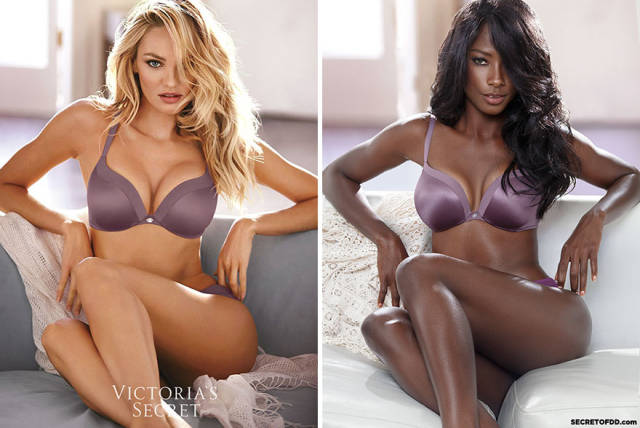 Black Model Recreates The World's Most Famous Ad Campaigns To Show The Lack Of Diversity In The Modelling Industry