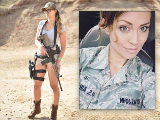 A Beaty In The Uniform: Charissa Littlejohn Becomes A Model After Military Service